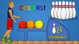 Learn Colors Bowling Ball Game!