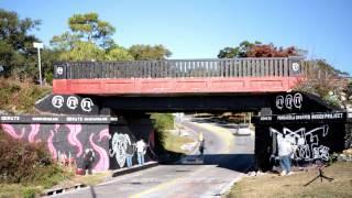 Pensacola Graffiti Bridge Project Time-Lapse