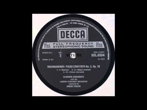 Rachmaninoff, Piano Concerto No 2, Ashkenazy