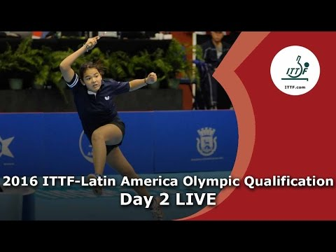 2016 ITTF-Latin America Qualification Tournament - Qualification Matches Day 2