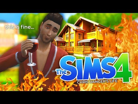 I BURNT MY HOUSE DOWN!! | The Sims 4 (#2)