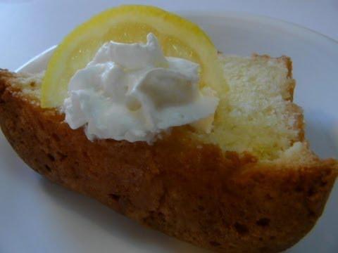 how to make lemon cake youtube