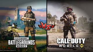 Pubg Mobile VS Call of Duty Mobile Comparison (Graphics). Which one is best?