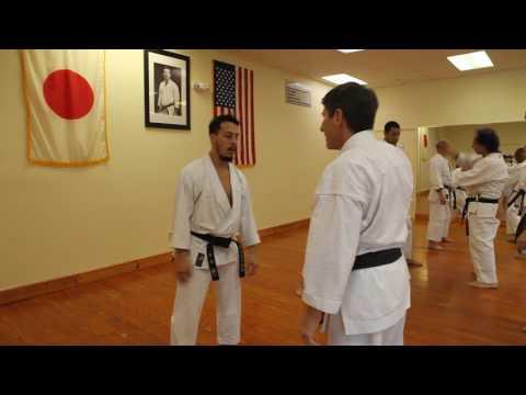 Practicing technique from Tekkie Shodan