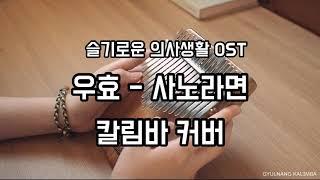 우효 - 사노라면 (슬기로운 의사생활 OST) 칼림바 커버