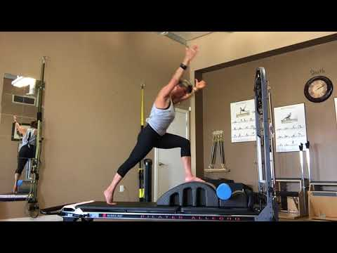 Pilates Spine Corrector Athletic Flow with Fiona