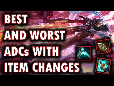 Best and Worst ADCs With ADC Item Reworks/Changes | How The ADC Meta Will Change In Patch 8.11
