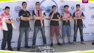 م. عماد العمري، رعد كلوب وبدر قدورة - فوزهم في البطولة العربية للغواصات