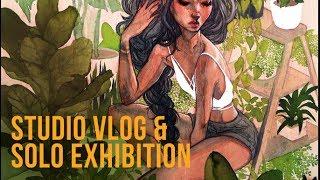 Solo Exhibition Vlog & Update // Jacquelindeleon