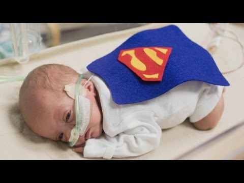 Nurses Make Tiny Costumes for NICU Babies on Their First Halloween