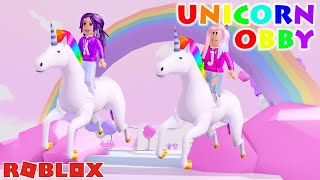 TRAVEL TO UNICORN ISLAND OBBY ON ROBLOX! 🦄