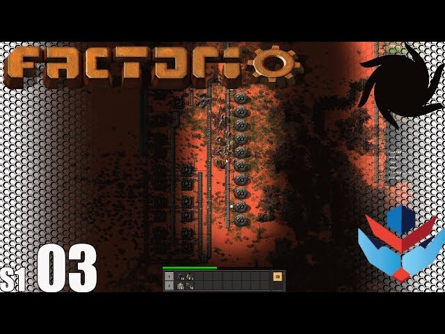 Factorio MP with NOG - S01E03 - Walls and Death