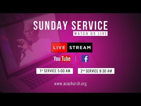02 Dec 2018 | Sunday 1st Service | Live! Sermon By Ps A Thomasraj
