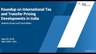 How Is The International Tax And Transfer Pricing Landscape Evolving In India?