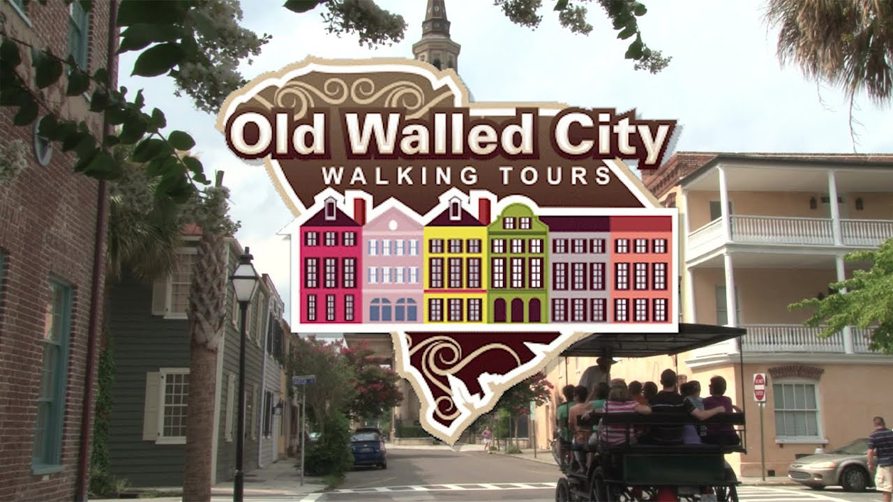 Charleston History Tours - Charleston Old Walled City Tours - Charleston History Tours
