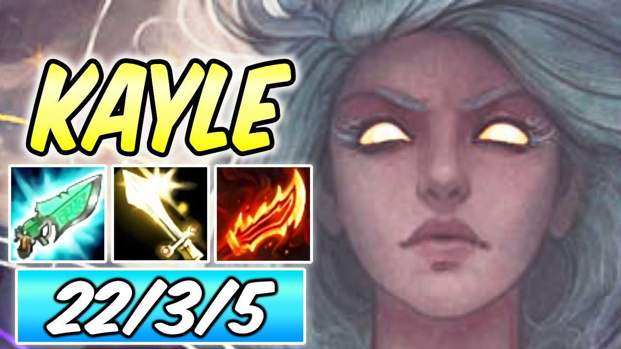 KAYLE MID MELTING EVERYTHING | Full Attack Speed Burst Build & Runes | League of Legends