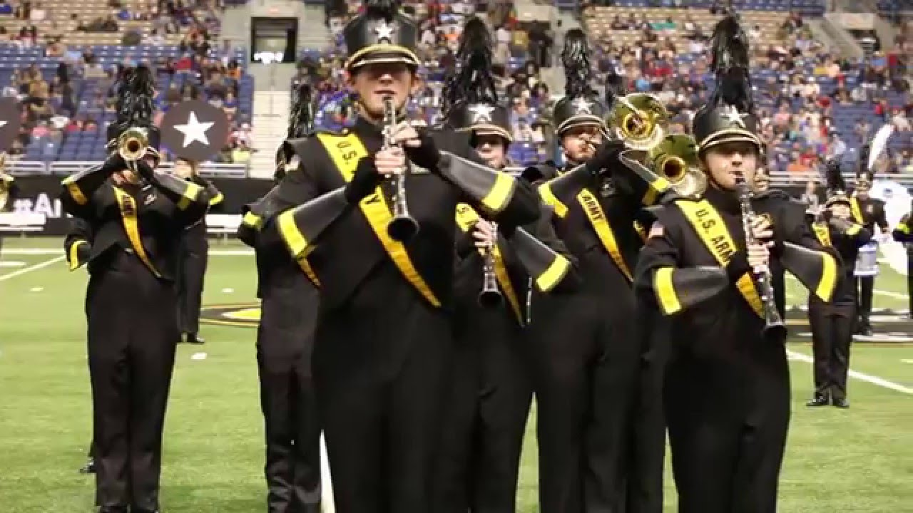 U S  Army All-American Marching Band Game Day