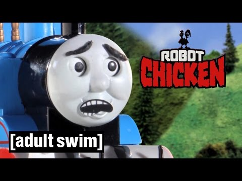 Thomas the Tank Engine gets hijacked | Robot Chicken | Adult Swim