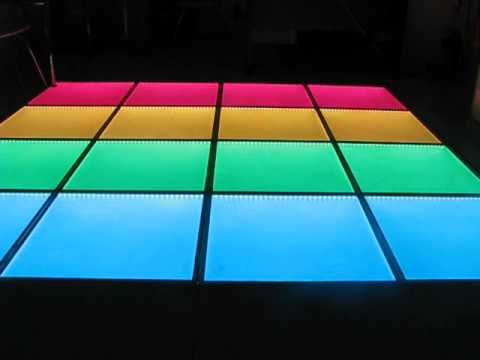 LED Dance Floordisco Floor Party FloorX Layout Pcs Of - How to make a lighted dance floor