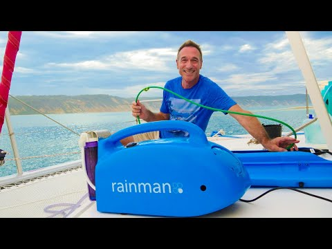 Sailing Bluefin Ep#17: Rainman watermaker demo/review - How to make fresh drinking water on a boat!