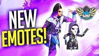 Overwatch - NEW Mercy, Genji and Sombra Emotes! / 10 MILLION OWL Viewers?!