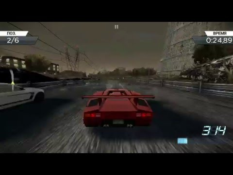 nfs most wanted lamborghini countach 5000 qv sony xperia z ultra youtube. Black Bedroom Furniture Sets. Home Design Ideas