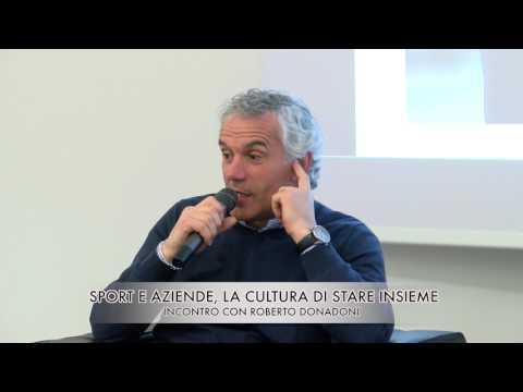"""Convegno """"SPORT E AZIENDE"""" con la partecipazione di Roberto Donadoni"""