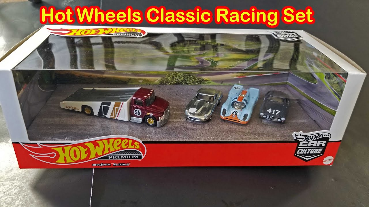 Hot Wheels Classic Racing Set