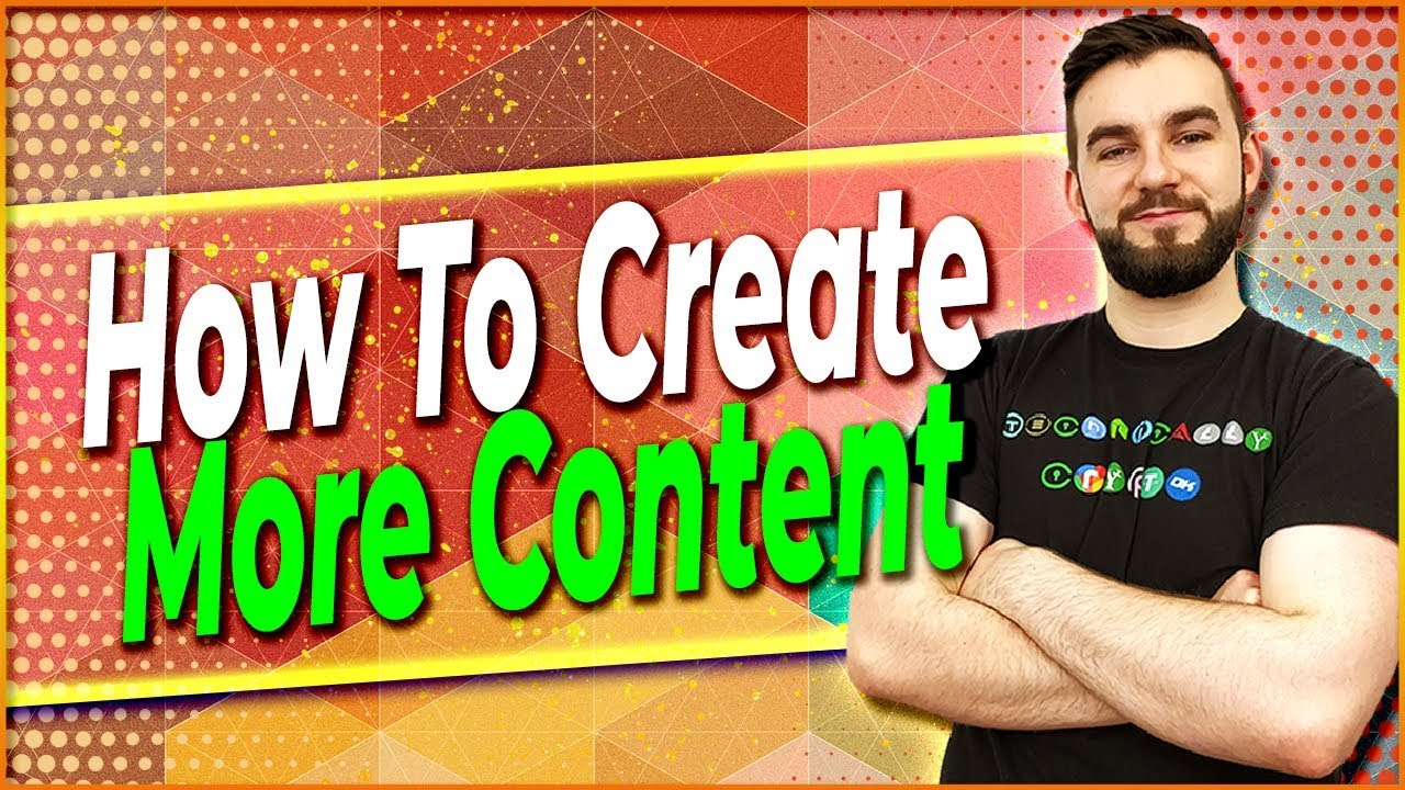 ▶️ How To Create More Content | EP#325