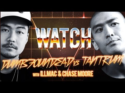 WATCH: DUMBFOUNDEAD vs TANTRUM with ILLMAC and CHASE MOORE
