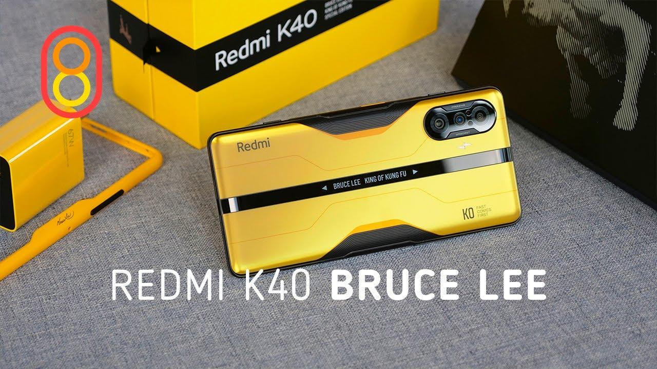 Redmi K40 Bruce Lee: распаковка и первый обзор!