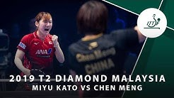 Miyu Kato vs Chen Meng   T2 Diamond Malaysia (QF)