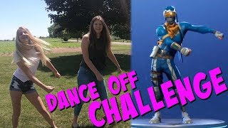 FORTNITE DANCES IN REAL LIFE|| DANCE OFF CHALLENGE || Taylor and Vanessa