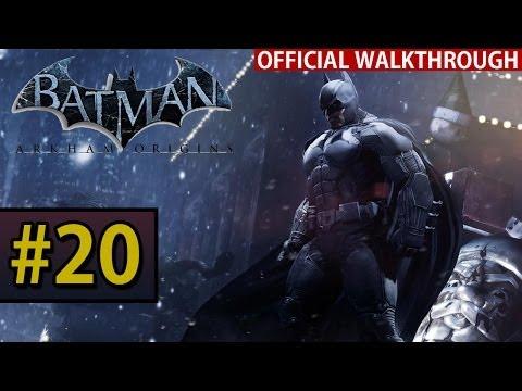 Batman Arkham Origins - Walkthrough Gameplay - Part 20 Joker's Sleigh Ride