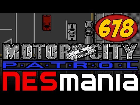 678/714 Motor City Patrol - NESMania