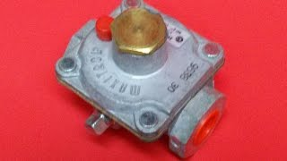 Converting A Maxtrol Gas Regulator for  Natural Gas (NG) or Propane (LP)