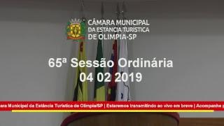 65ª Sessão Ordinária 2018 10-12-2018 parte 2