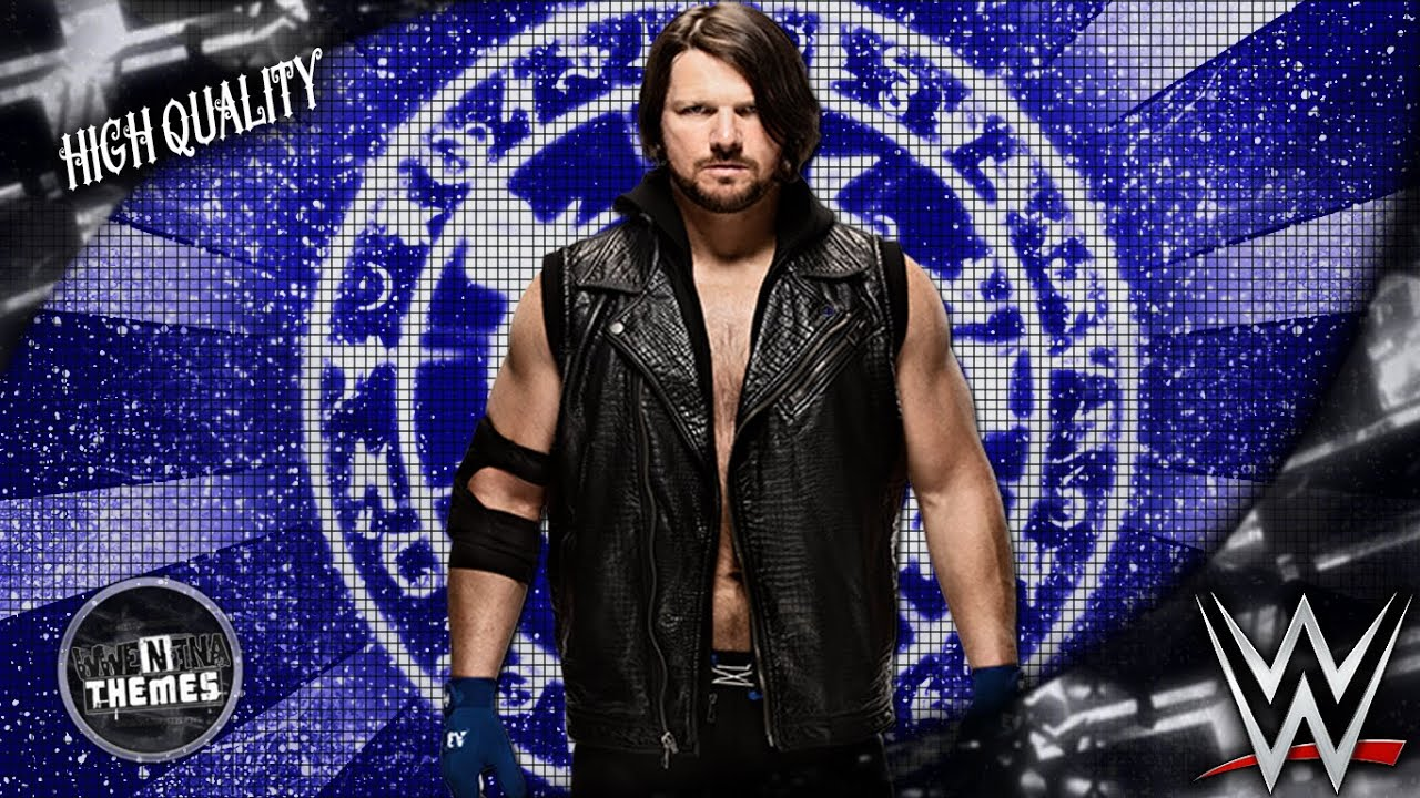 Aj Styles 1st New Wwe Theme Song 2016 Phenomenal Hd
