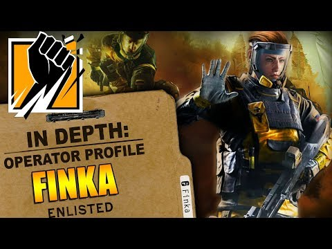 Rainbow Six Siege  In Depth: How to Play FINKA  Operator Profile