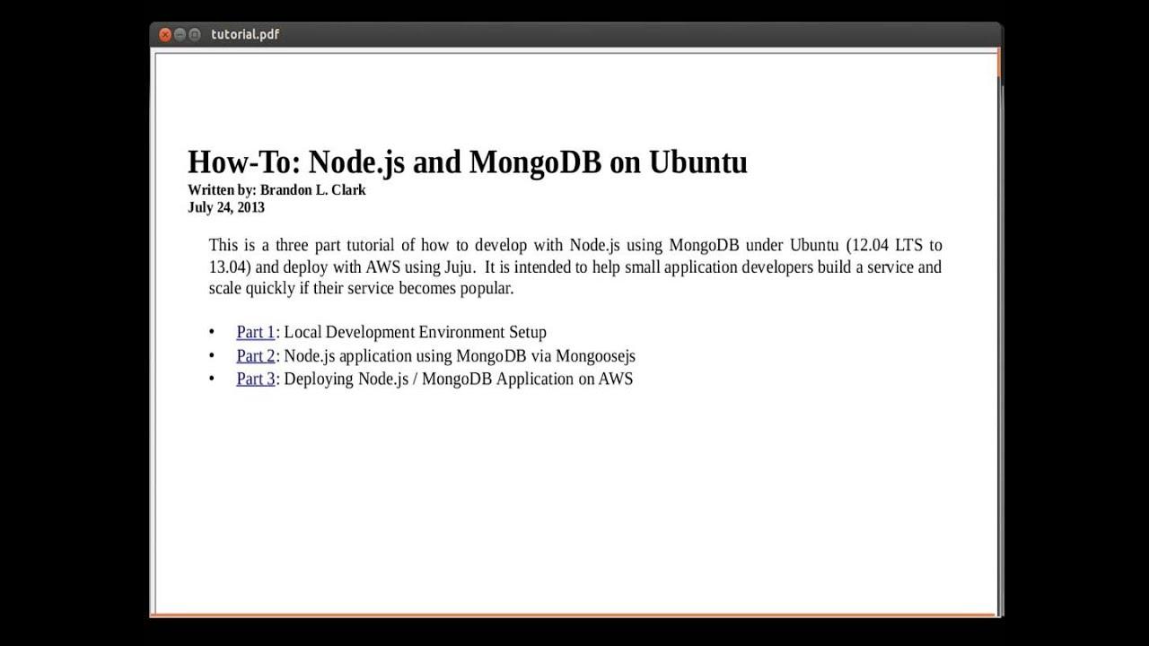 how to use node.js ubuntu