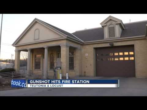 Gunshot hits Milwaukee fire station