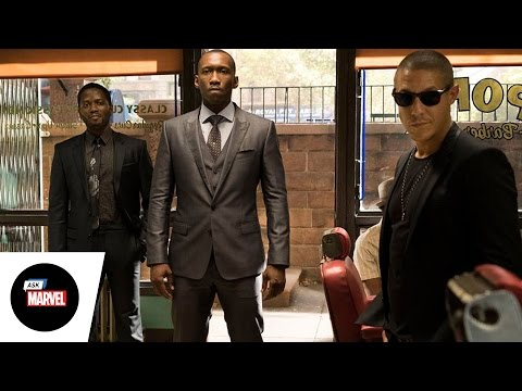 Ask Marvel: Frank Whaley, Theo Rossi and Mahershala Ali of Marvel