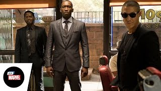 Ask Marvel: Frank Whaley, Theo Rossi and Mahershala Ali of Marvel's Luke Cage