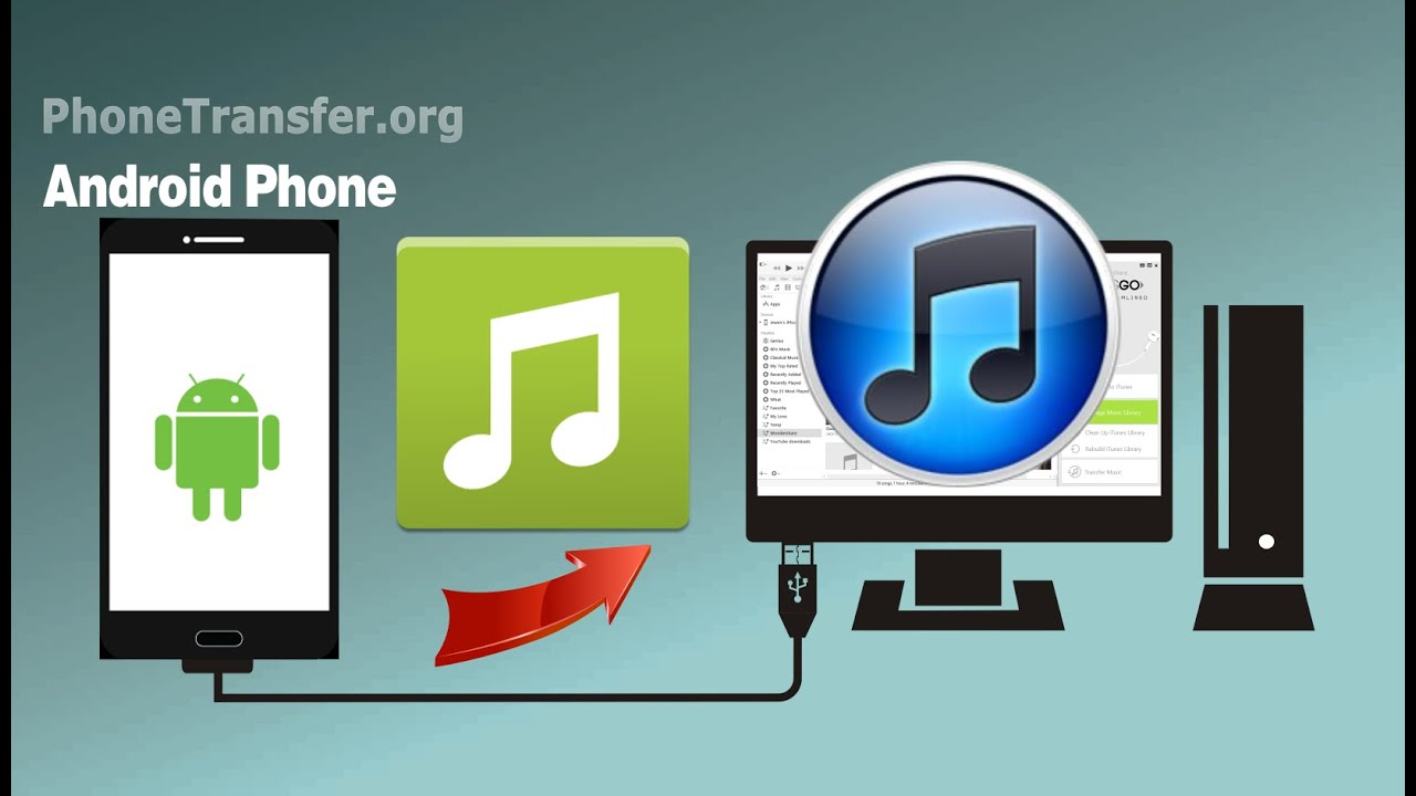 Phone Sync Android Phone With Itunes android to itunes how sync music playlist from phone itunes