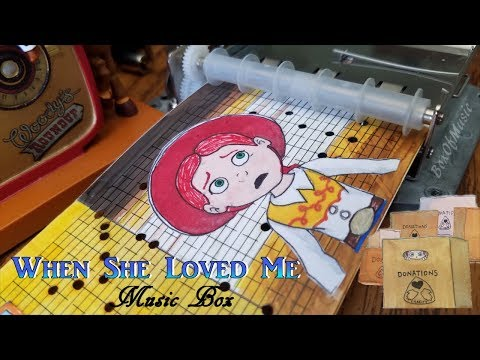 MUSIC BOX When She Loved Me (Toy Story 2)