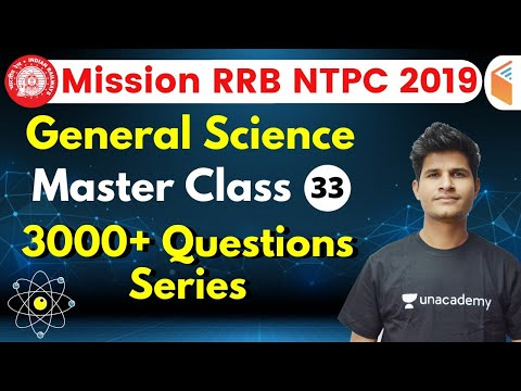 9:30 AM - RRB NTPC 2019 | GS By Neeraj Sir | 3000+ Questions Series (Part-33)
