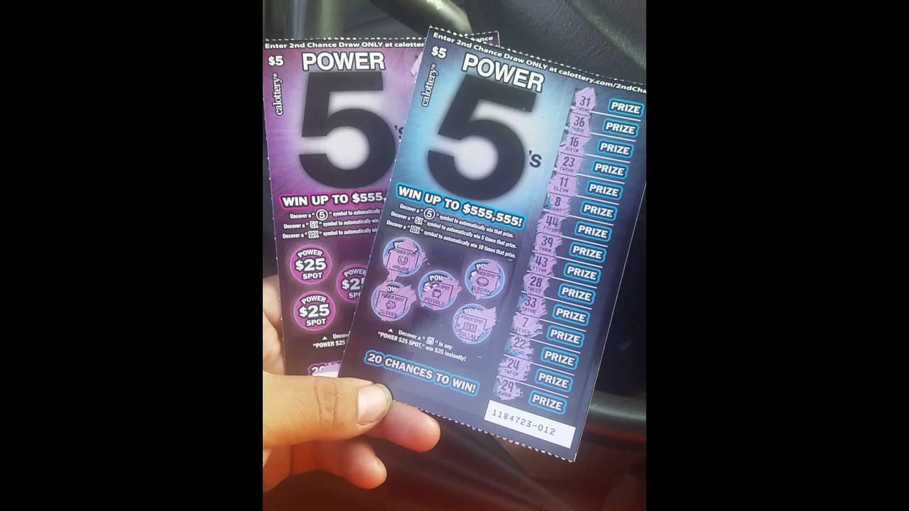 Power 5 Scratcher Rules