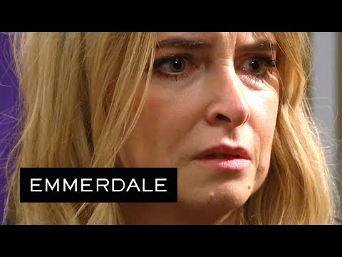 Emmerdale - Charity Sees a Man She Hates on the News