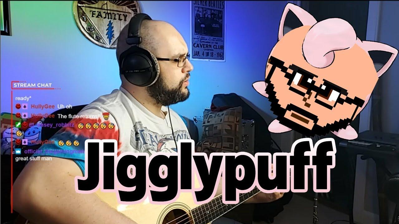 Grown man sounds just like JigglyPuff!!