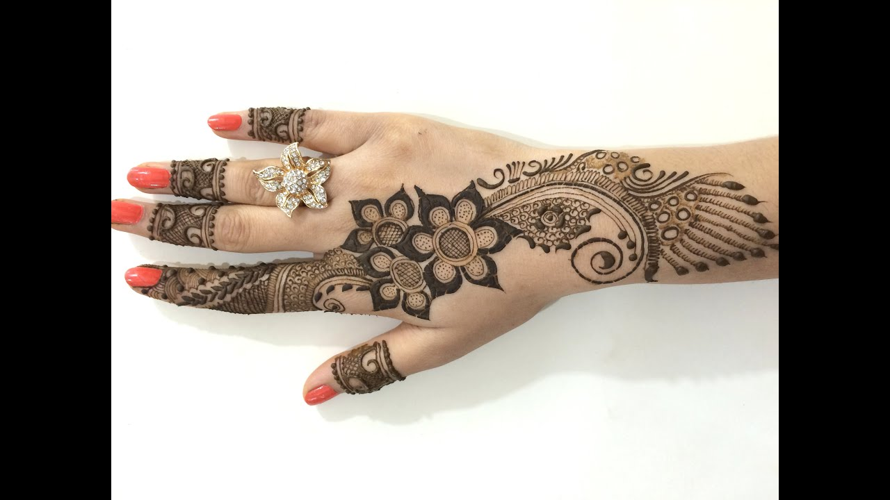 13 Unique Henna Designs Doing The Rounds This Wessing: Best Ornament Unique Arabic Henna Mehndi:Stylist Mehendi